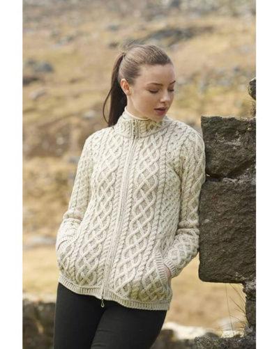Irish Wool Cardigan