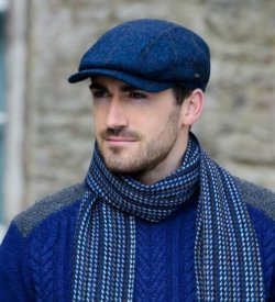 Traditional Irish Kerry Cap - Blue