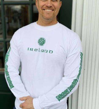 Long Sleeve Celtic Design T Shirt