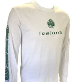 Long sleeve Irish T Shirt