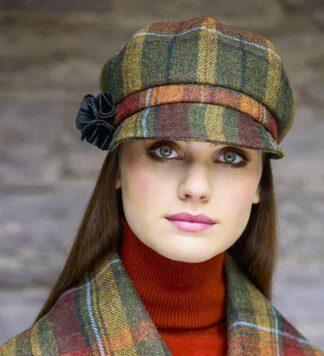 Ladies Newsboy Hat. Made in Ireland
