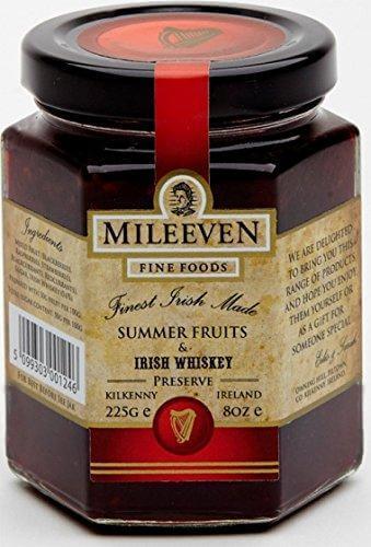 Mileeven Summer Fruits Irish Whiskey Preserve