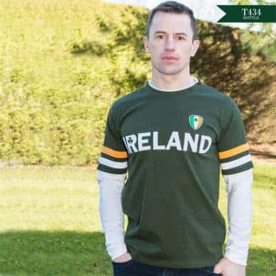 Long Sleeve Irish T Shirt.