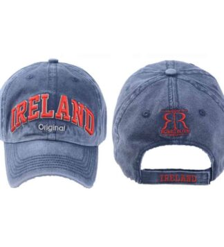 Ireland Baseball Cap, Blue, Embroidered