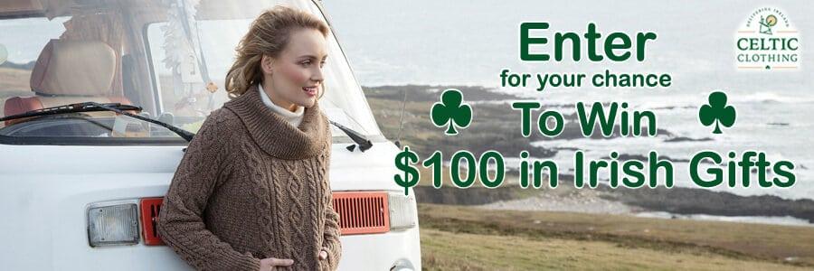 Celtic Clothing Irish Sweepstakes