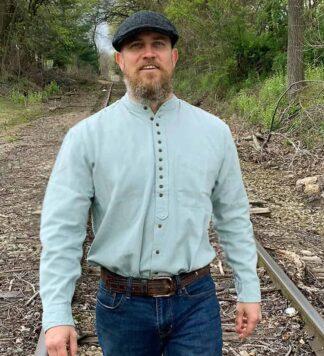 Grandfather-Shirt-Mint-Green