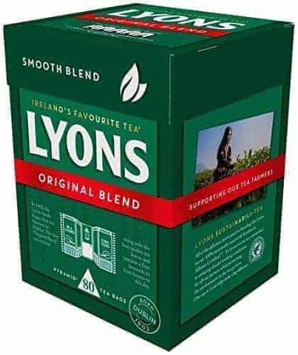 Lyons tea, Original Blend, Imported from Dublin, Ireland