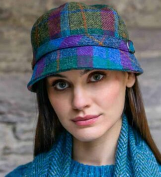 Galway Girl Plaid Flapper Hat