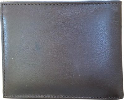 Irish Leather Wallet - Back