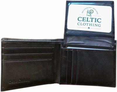 Celtic Design Leather Wallet