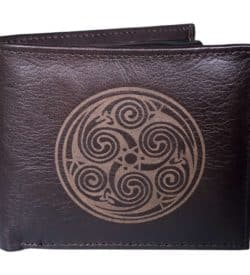 Book of Kells Leather Wallet for Men