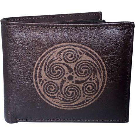 Book of Kells Leather Wallet for Men