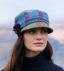 Mucros Weavers Newsboy Hat for Women