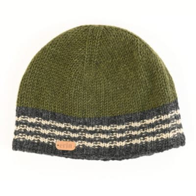 Green Wool Beanie from Ireland