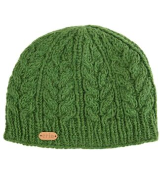 Green Irish Beanie Cap.