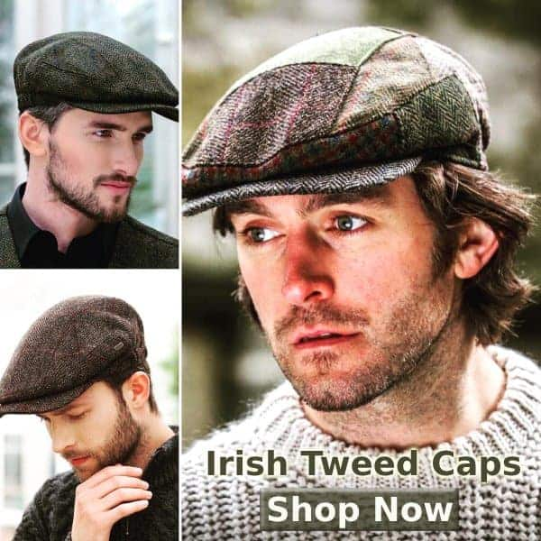 Irish Tweed Flat Caps