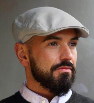 Hanna Hat Linen Gray
