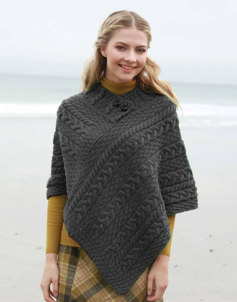 Ladies Wool Poncho