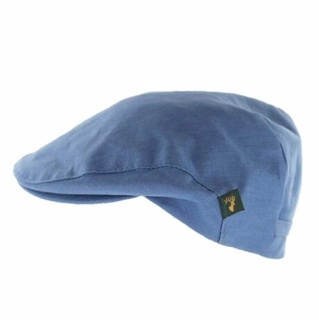 Irish Linen Flat Cap