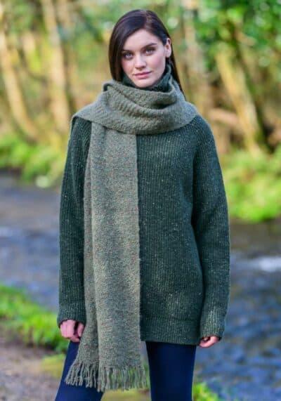 Handmade Irish Wool Scarf