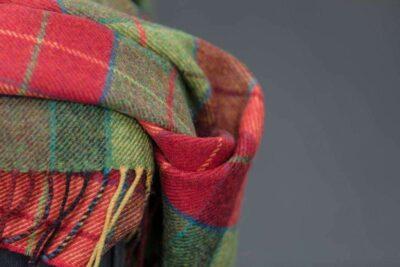 Irish Heritage Wicklow Throw-Tartan Check