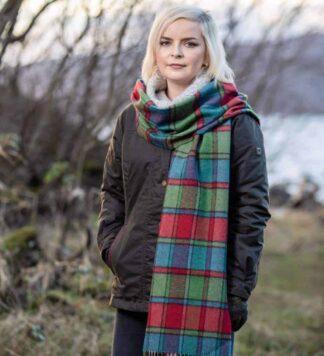 Irish Heritage Wool Scarf