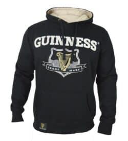 Guinness Signature Black Hooded Sweatshirt