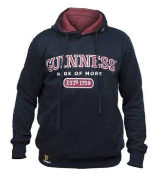 Guinness Hooded Sweatshirt - Navy