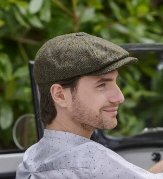 Driving Hat from Ireland. Green.