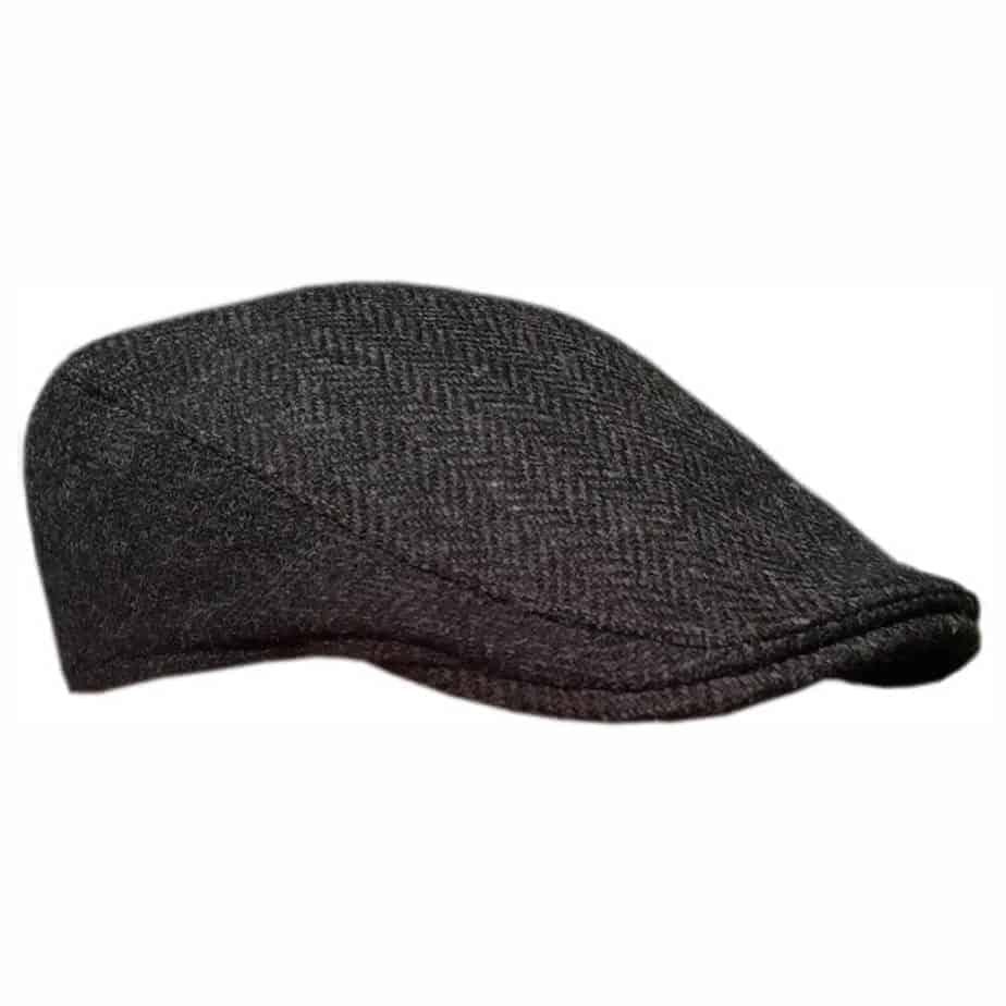 Authentic Irish Ivy Cap. Handmade in Ireland from 100% Irish Tweed. 2868770b53e