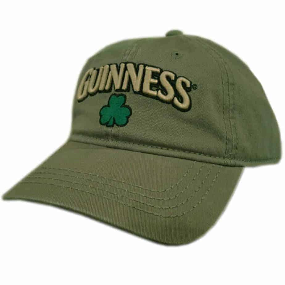 eef4079c3d1 Guinness Hat Olive Green