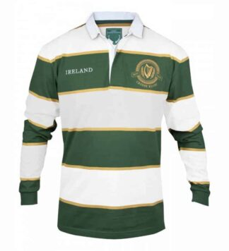 Irish Rugby Jersey Green and White