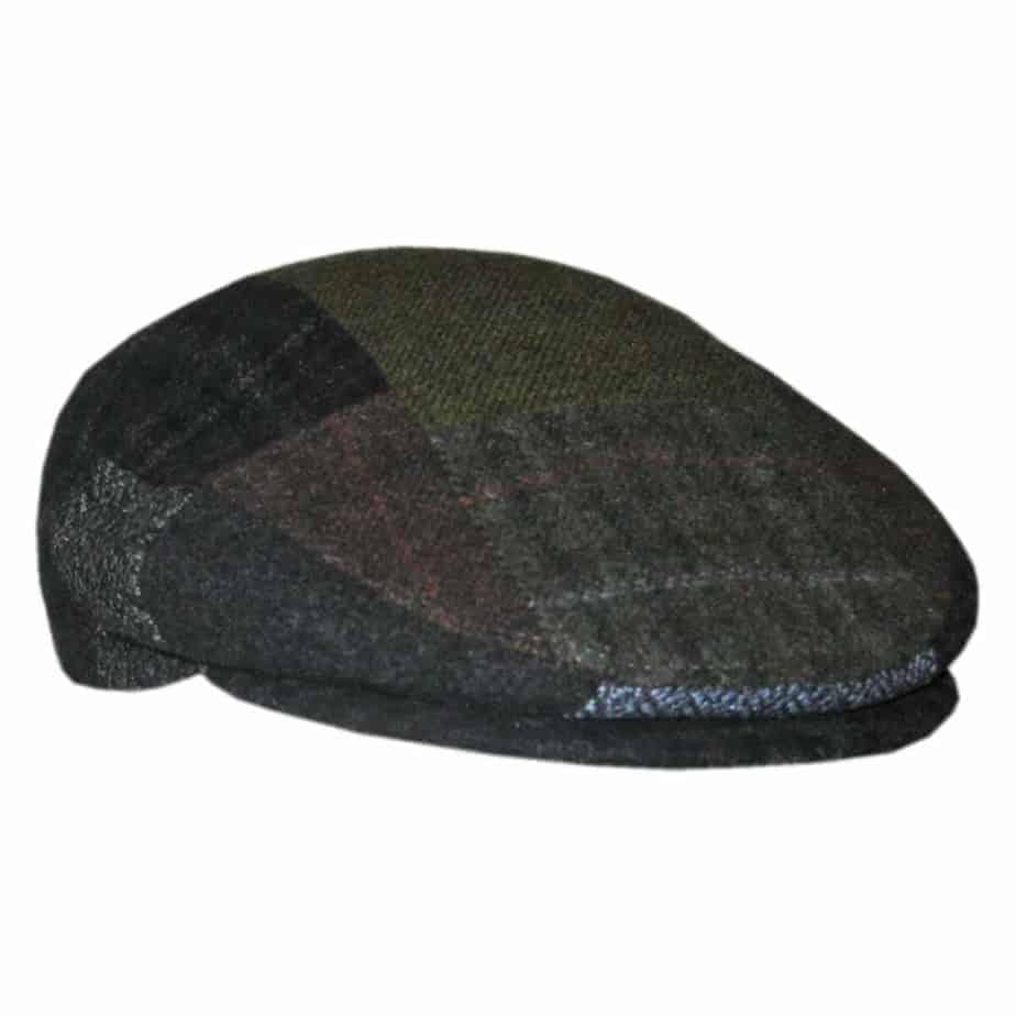 0f77ab9c3d1 Patchwork Irish Cap.   48.95. Made in Ireland by Mucros Weavers ...