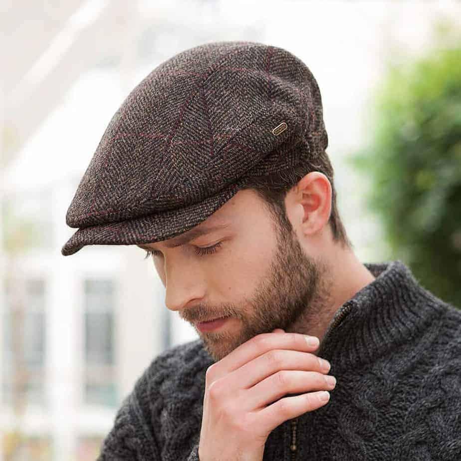 Quiet Man Cap - Made in Ireland - 100% Real Irish Wool