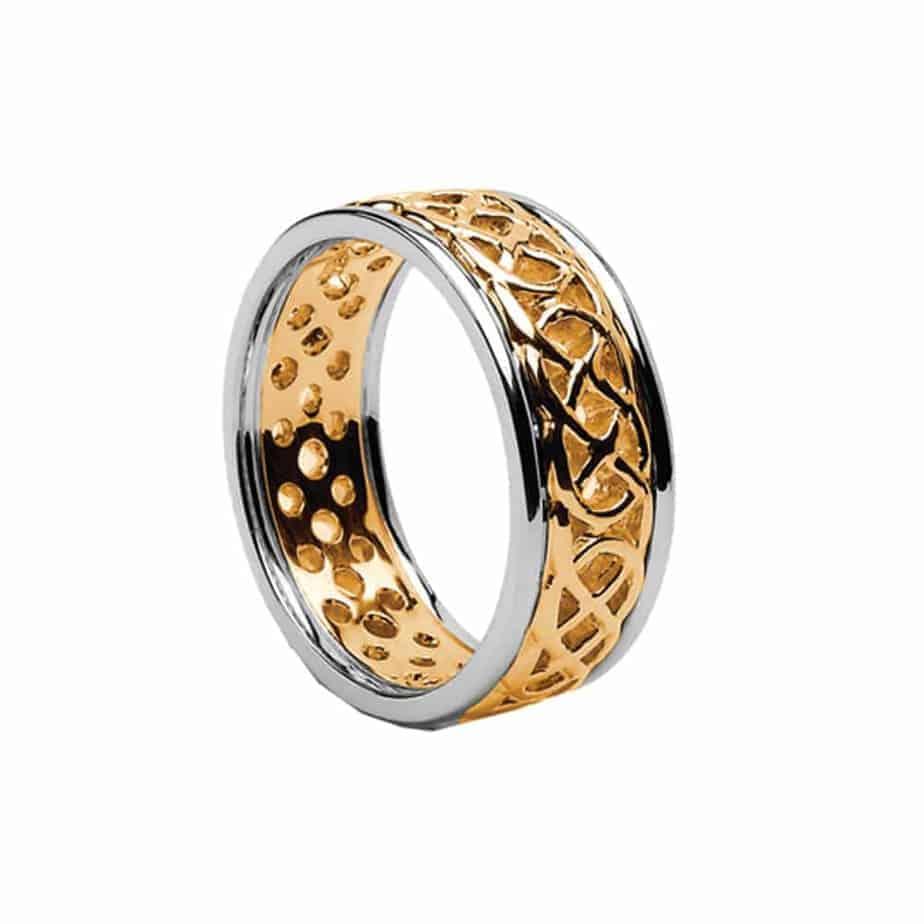 Celtic Wedding Band: Celtic Wedding Band- Gold